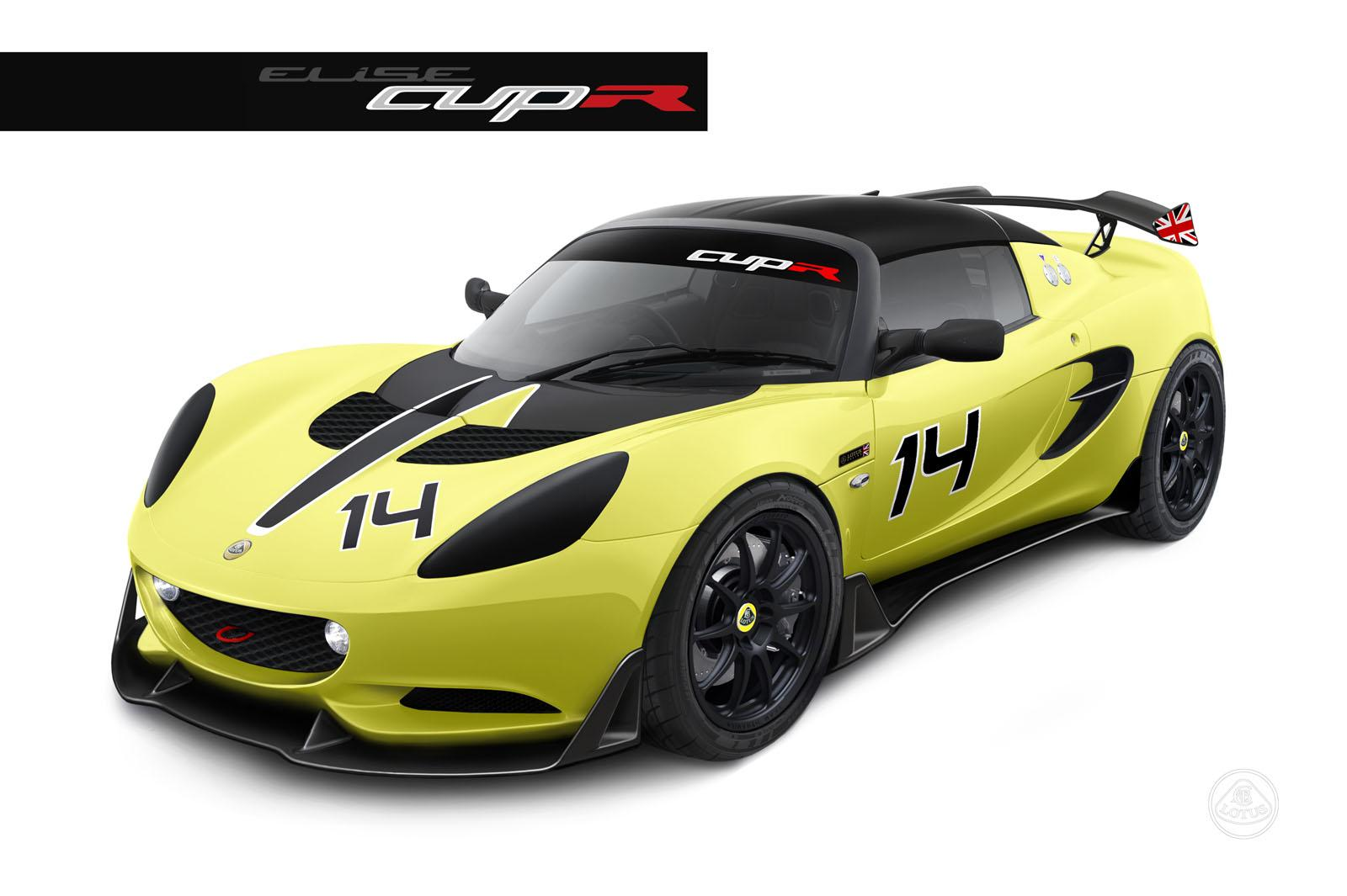 2014 lotus elise s cup r announced autoevolution. Black Bedroom Furniture Sets. Home Design Ideas