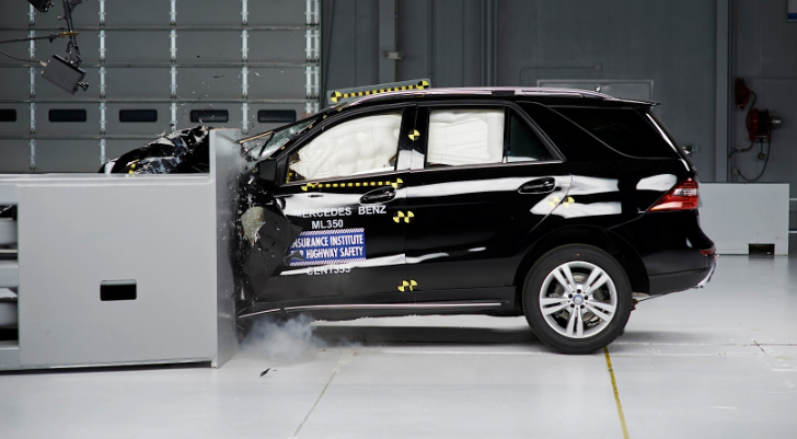 2014 M-Class W166 Wins IIHS Top Safety Pick+ Award [Video]