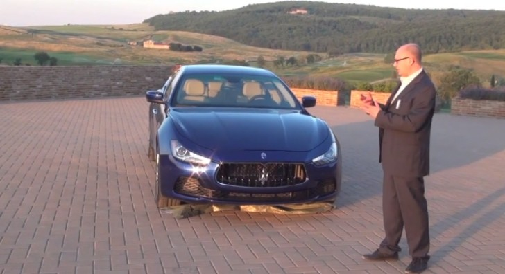 2014 Maserati Ghibli Design Explained [Video]