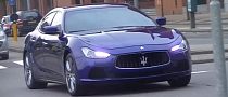 2014 Maserati Ghibli in Motion for the First Time [Video]