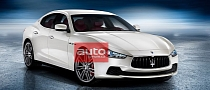 2014 Maserati Ghibli Official Photos Leaked