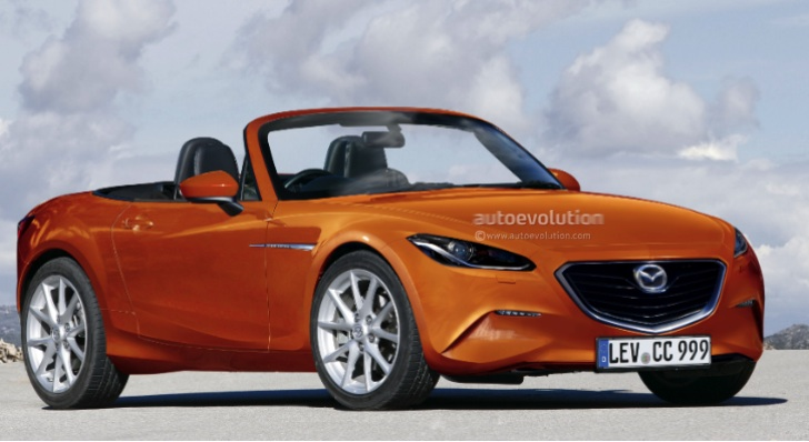 2014 Mazda MX-5 Miata 1.3L Turbo Rendering