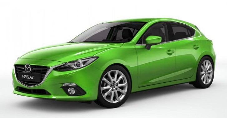 2014 Mazda3 Imagined in More Colors [Photo Gallery]