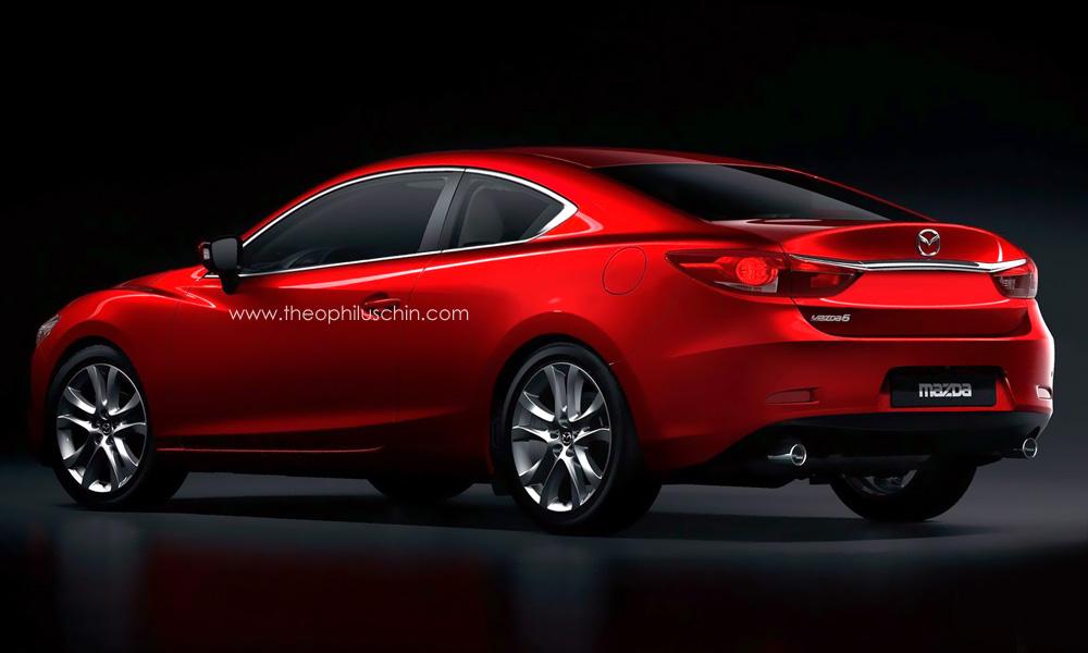 2014 Mazda6 Coupe Rendering Autoevolution