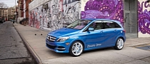 2014 Mercedes-Benz B Class EV Debuts at New York Show [Photo Gallery]