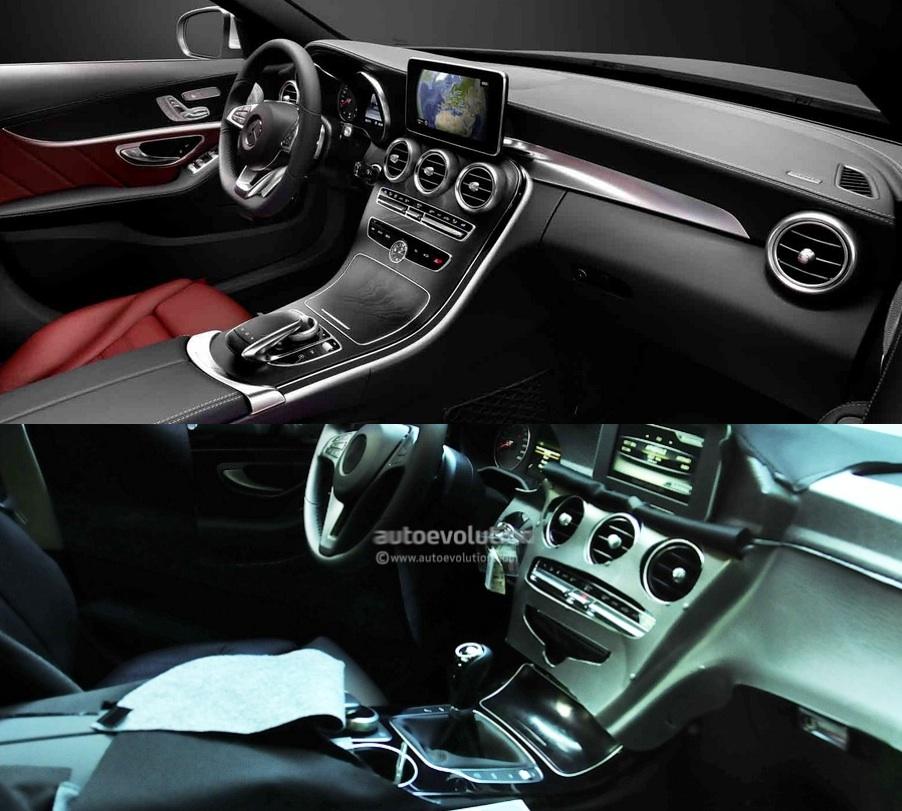 2015 mercedes benz c class w205 to have two different center rh autoevolution com 2014 Mercedes-Benz C-Class 2002 Mercedes-Benz C-Class