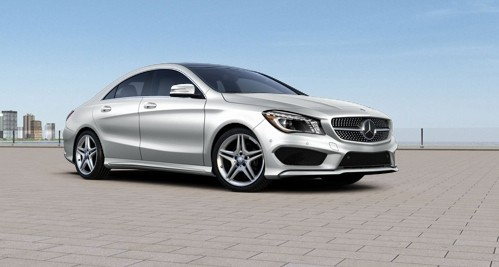 2014 Mercedes-Benz CLA Configurator Launched