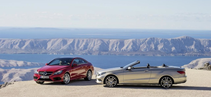 2014 Mercedes-Benz E-Class Coupe and Cabriolet Facelift Released [Photo Gallery]