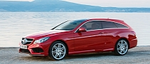 2014 Mercedes-Benz E-Class Coupe Shooting Brake Rendering Released