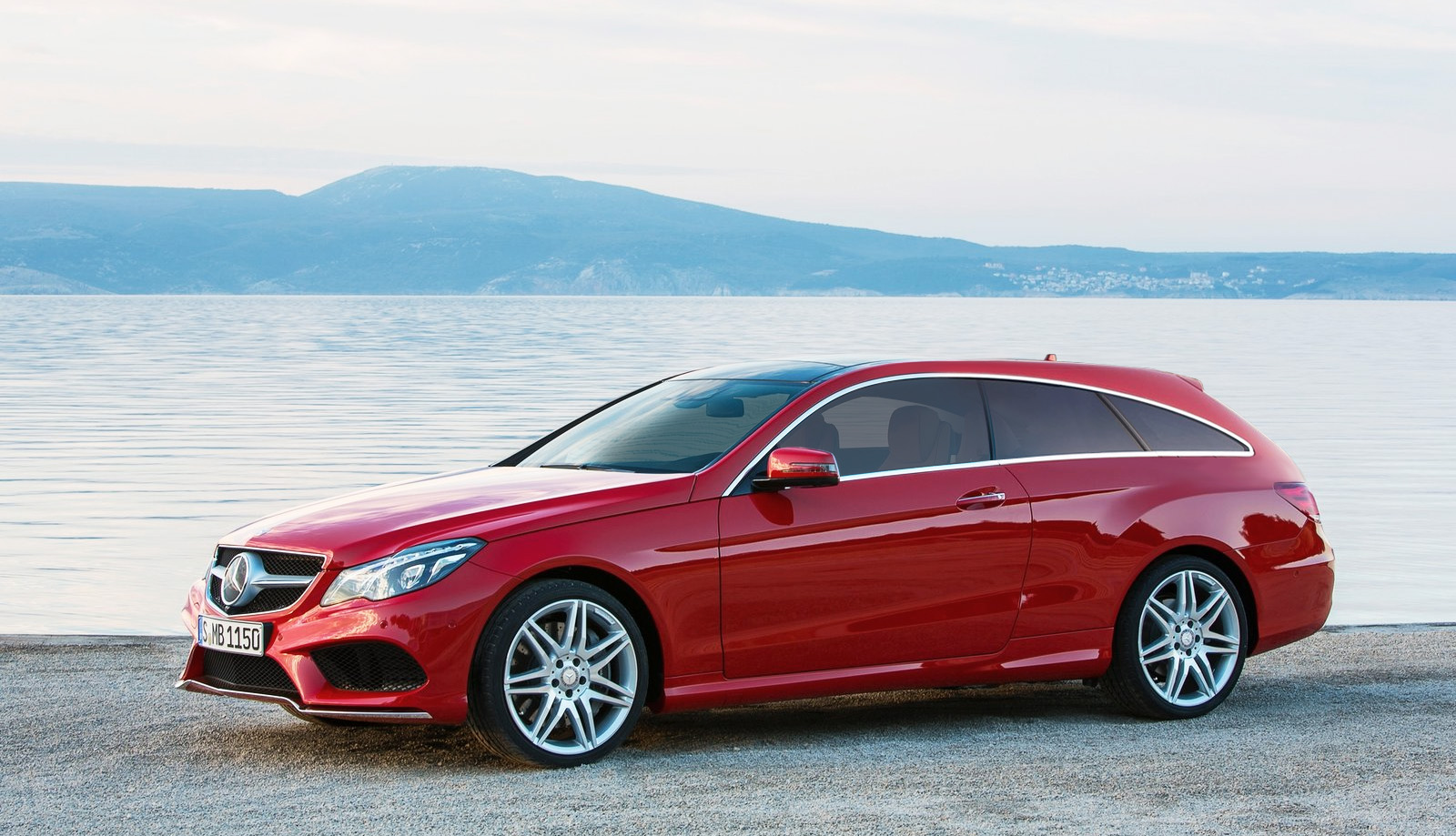 2014 Mercedes Benz E Class Coupe Shooting Brake Rendering