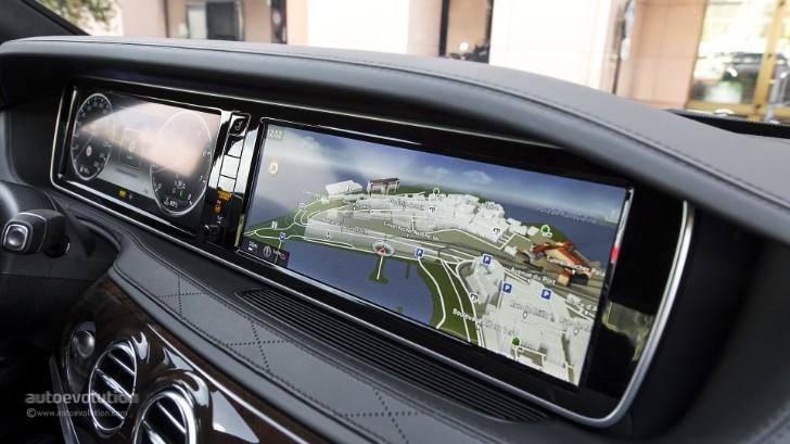 2014 Mercedes Benz S Class Digital Dashboard Mixed