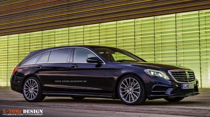 2014 Mercedes-Benz S-Class Shooting Brake Rendered