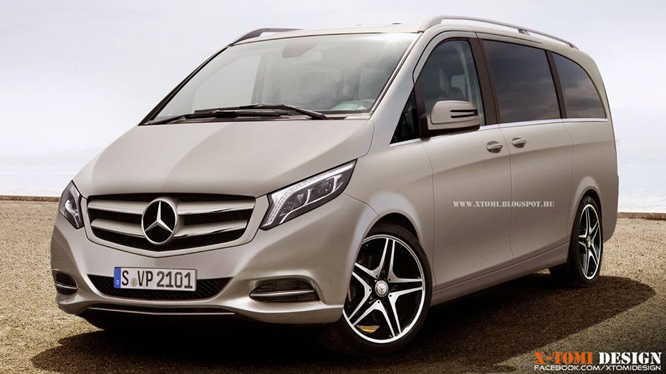 2014 mercedes benz viano rendered autoevolution. Black Bedroom Furniture Sets. Home Design Ideas