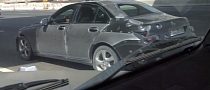 2014 Mercedes C-Class Spied Testing in Dubai [Video]