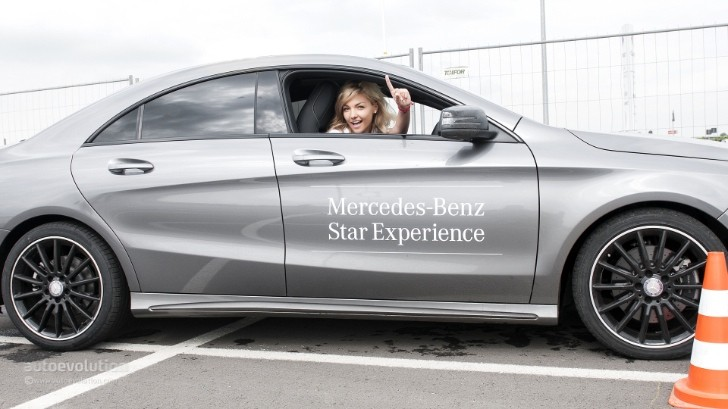 2014 Mercedes CLA and 2014 E-Class Short Drive: Mercedes Roadshow