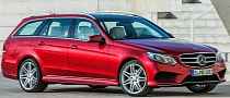 2014 Mercedes E-Class Facelift Photos Leaked, Including Estate, Interior