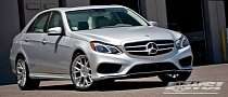 2014 Mercedes E-Class Gets Vossen CV2 Wheels