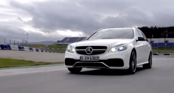 2014 Mercedes E63 AMG S-Model Wagon Walkaround [Video]