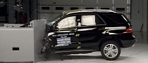 2014 Mercedes M-Class Earns Top Safety Pick+ Award [Video]