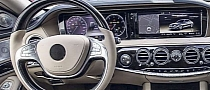 2014 Mercedes S-Class: New Interior Photos and Engine Details Leaked