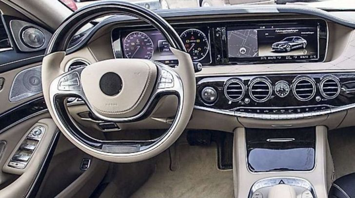 2014 Mercedes S-Class: New Interior Photos and Engine ...