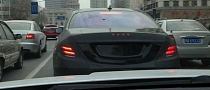2014 Mercedes S-Class Spotted Testing in China