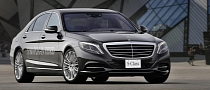 2014 Mercedes S500 Plug-in Hybrid Officially Unveiled [Photo Gallery]