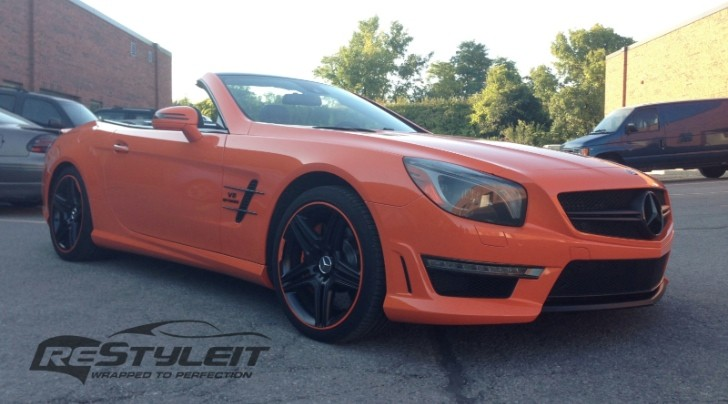 2014 Mercedes SL63 AMG in Fire Orange [Photo Gallery]