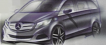 2014 Mercedes Viano Sketches Leaked