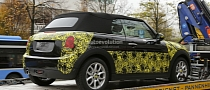 2014 MINI Cooper Convertible Spied in Most Revealing Photos Yet [Photo Gallery]