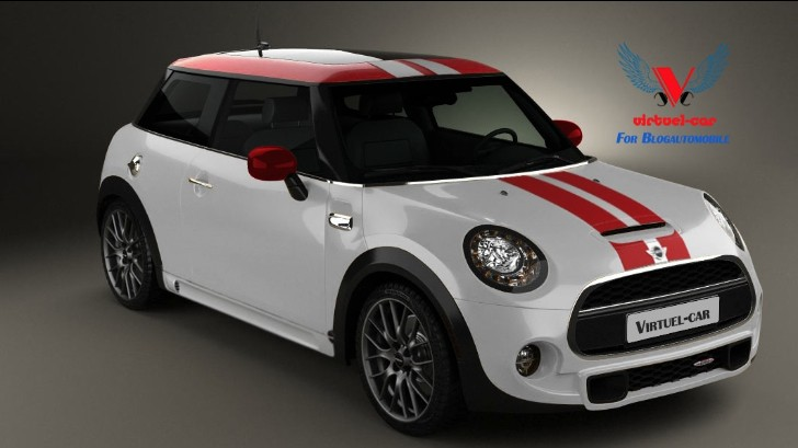 2014 MINI Cooper JCW Rendering [Video]