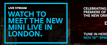2014 MINI Cooper Live Unveiling Stream Announced