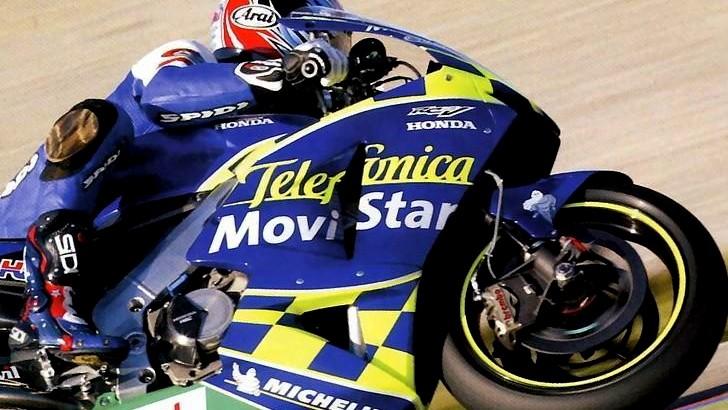 Yamaha MotoGP Movistar Bike