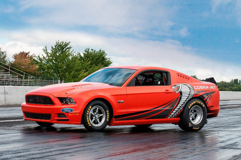 2014 Mustang Cobra Jet Prototype Auctioned for Charity - autoevolution