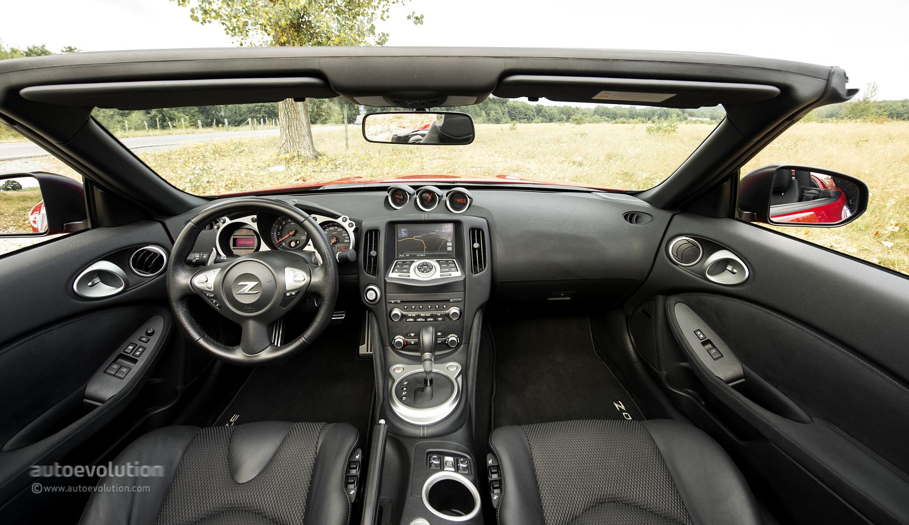2014 Nissan 370Z Roadster Original Pictures - autoevolution