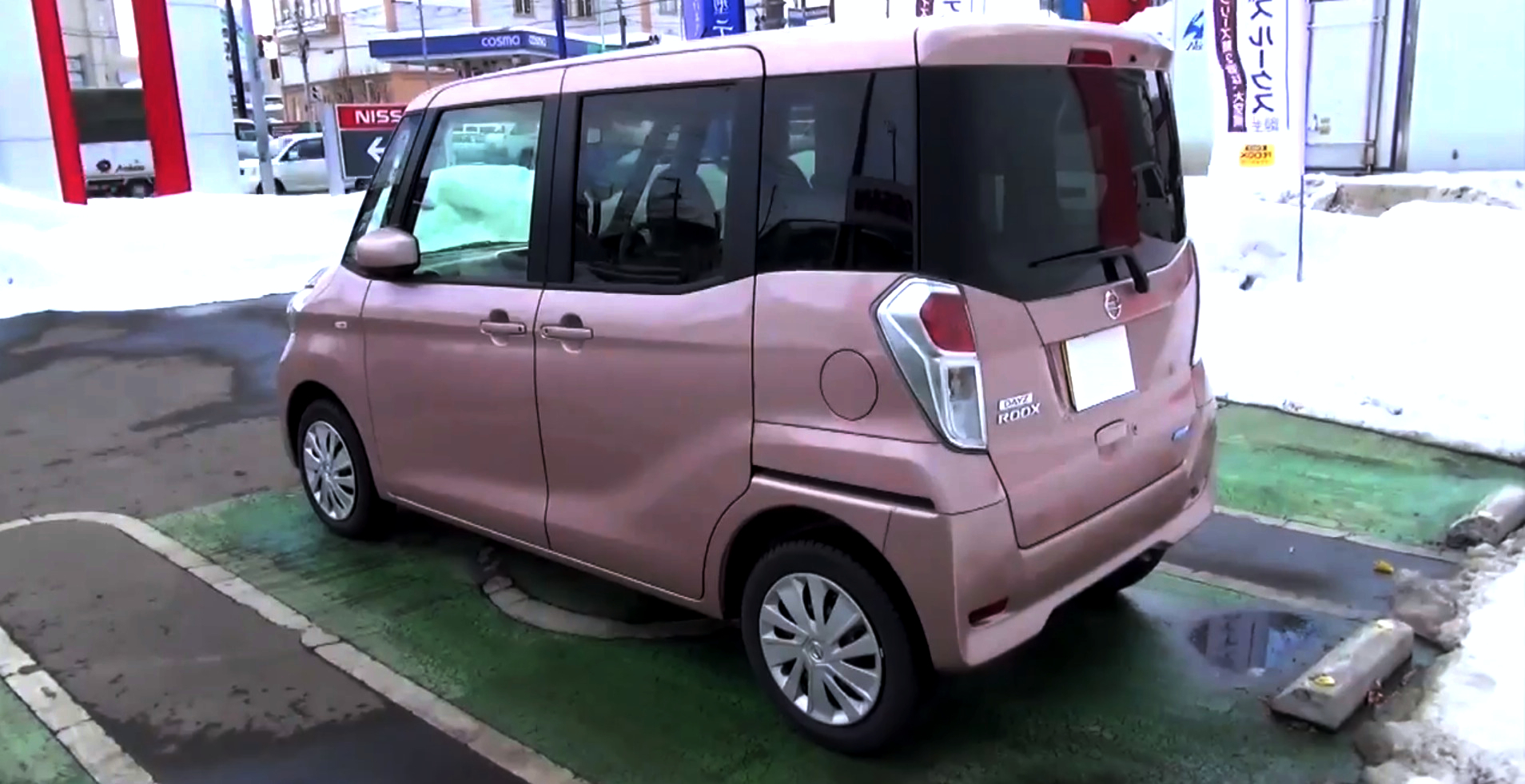 2014 Nissan Dayz Roox Is A Pink Shoe Box On Wheels