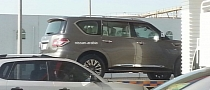 2014 Nissan Patrol Facelift Spotted in Dubai