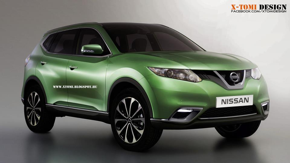 2014 nissan qashqai rendering autoevolution. Black Bedroom Furniture Sets. Home Design Ideas