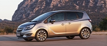 2014 Opel Meriva Facelift Revealed [Photo Gallery]