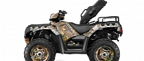 2014 Polaris Sportsman 550 EPS Ready for the Job, Price Announced [Photo Gallery]