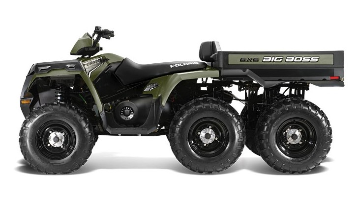 2014 polaris sportsman big boss 6x6 800 efi looks extreme autoevolution. Black Bedroom Furniture Sets. Home Design Ideas