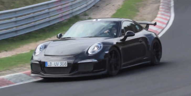 2014 Porsche 911 GT3 Spotted Lapping the Nurburgring [Video]