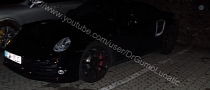 2014 Porsche 911 Turbo Spied Testing in Stuttgart [Video]
