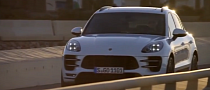 2014 Porsche Macan Driving Footage, PTV Demoed[Video]