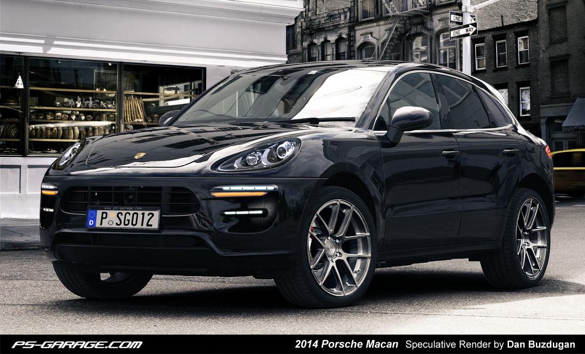 2014 Porsche Macan - New Rendering - autoevolution