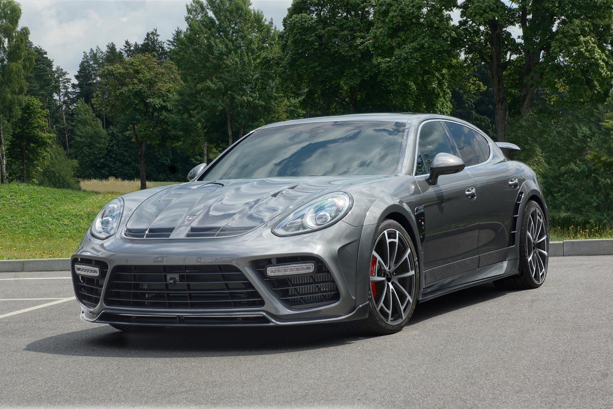 2014 porsche panamera facelift by mansory has 680 hp