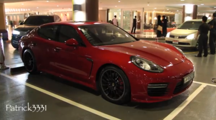 2014 Porsche Panamera GTS Spotted in Dubai [Video]