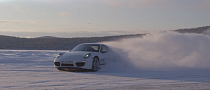 2014 Porsche Winter Driving Experience: Drift a 911 on Ice [Video]