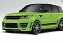 2014 Range Rover Sport by Lumma Design Looks Like the Hulk