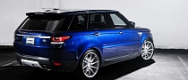 2014 Range Rover Sport Gets 22-Inch Vossen CVT Wheels [Video] [Photo Gallery]